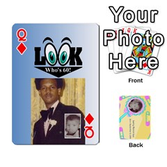 Queen Larry Playing Cards By Lynne Lee   Playing Cards 54 Designs (rectangle)   Fro25irqic5b   Www Artscow Com Front - DiamondQ