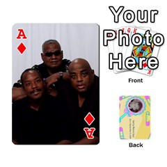 Ace Larry Playing Cards By Lynne Lee   Playing Cards 54 Designs (rectangle)   Fro25irqic5b   Www Artscow Com Front - DiamondA