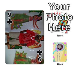 Larry Playing Cards By Lynne Lee   Playing Cards 54 Designs (rectangle)   Fro25irqic5b   Www Artscow Com Front - Club9