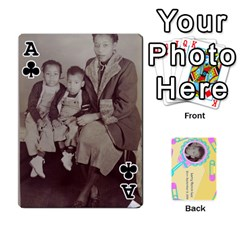 Ace Larry Playing Cards By Lynne Lee   Playing Cards 54 Designs (rectangle)   Fro25irqic5b   Www Artscow Com Front - ClubA
