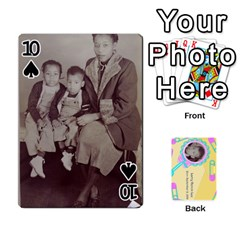 Larry Playing Cards By Lynne Lee   Playing Cards 54 Designs (rectangle)   Fro25irqic5b   Www Artscow Com Front - Spade10