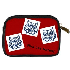Wildcat Camera Bag By Anne Frey   Digital Camera Leather Case   8eh7qacmw5gb   Www Artscow Com Back