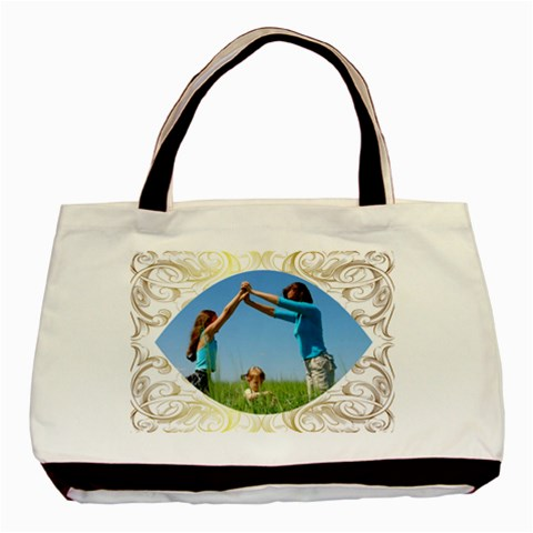 Summer By Wood Johnson   Basic Tote Bag   K9to7242bbux   Www Artscow Com Front