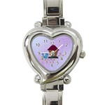 Allegra s Watch - Heart Italian Charm Watch