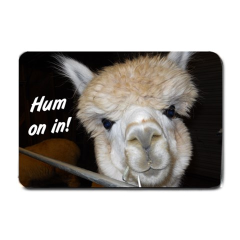 Alpaca Door Mat  Mom By Jennie Conkle   Small Doormat   Lzkyws087uwr   Www Artscow Com 24 x16 Door Mat - 1