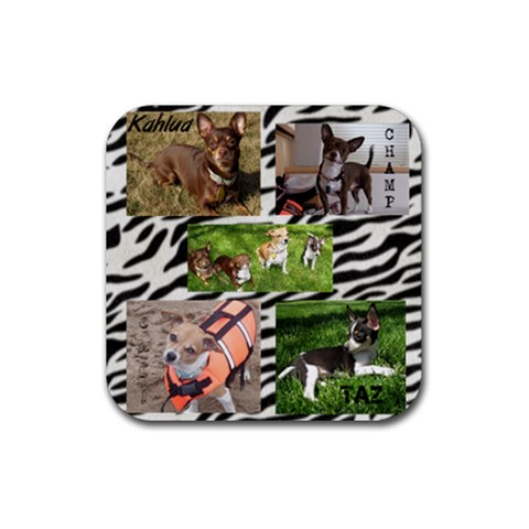 Crew By Jessica Huettl   Rubber Coaster (square)   3ywthls43sjg   Www Artscow Com Front