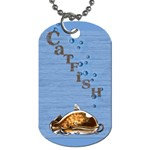 catfish - Dog Tag (One Side)