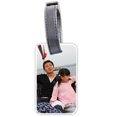 ?? 111 Luggage Tag (one side) by FuTesting2