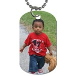 bj - Dog Tag (One Side)