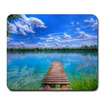 THE LAKE - Large Mousepad