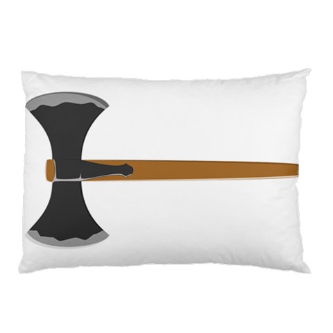 Pillow Axe By Richard Durham   Pillow Case   Mft0fw79xjcc   Www Artscow Com 26.62 x18.9  Pillow Case