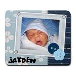 Jayden - large mouse pad - Large Mousepad