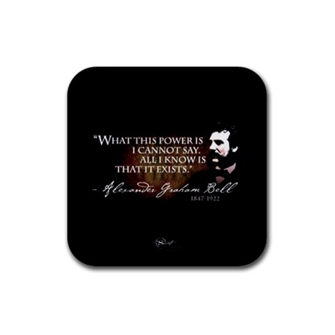 The Secret Coaster By Melanie Hatton   Rubber Coaster (square)   Fz3j5wh2oko6   Www Artscow Com Front