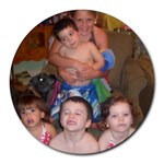 Mouse Pad my babies - Round Mousepad
