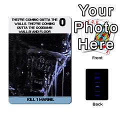 Aliens: This Time It s War Pt2 By Chris Hillery   Playing Cards 54 Designs   5j3xytumd0z3   Www Artscow Com Front - Diamond3