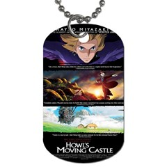 Howl Dog Tag Necklace By Mia Story   Dog Tag (two Sides)   Je7cf07gc4f9   Www Artscow Com Back