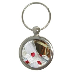 Western Wedding Festival Key Chain (round) by ironman2222