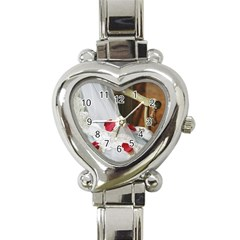 Western Wedding Festival Heart Italian Charm Watch by ironman2222