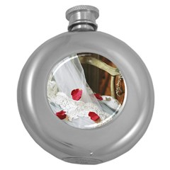 Western Wedding Festival Hip Flask (5 Oz)