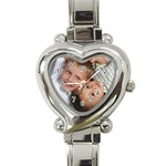 FelixMomWatch - Heart Italian Charm Watch