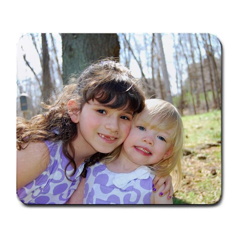 Mousepad of my girls by Joanne Bianco DeMarco Front