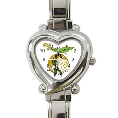 D.O.N. Heart Italian Charm Watch by vsmasonictees