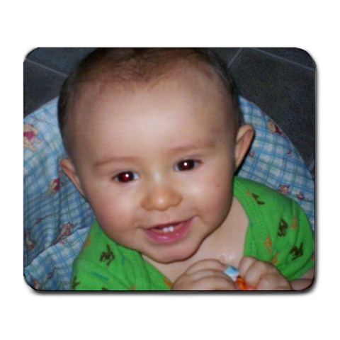 Smiley Riley By Pamela Dollar   Large Mousepad   H3l6begtqx8x   Www Artscow Com Front