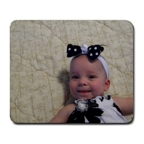 Allie s Mouse Pad By Rebekah Smith Scales   Large Mousepad   Ut7oxs6rfxxx   Www Artscow Com Front