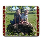 Autumn & Tyson - Large Mousepad