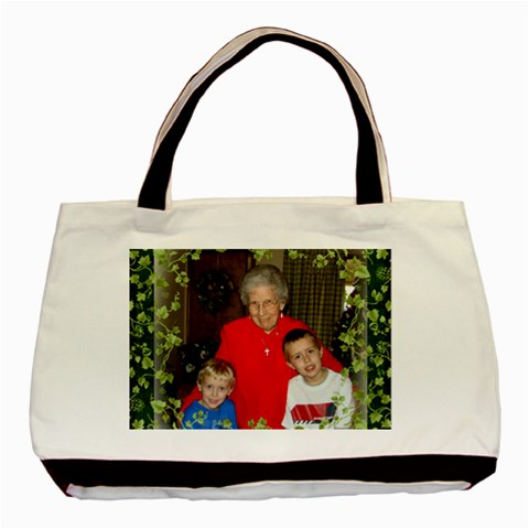 Great Grandma By Cindy   Basic Tote Bag   Eln6o871f9tm   Www Artscow Com Front
