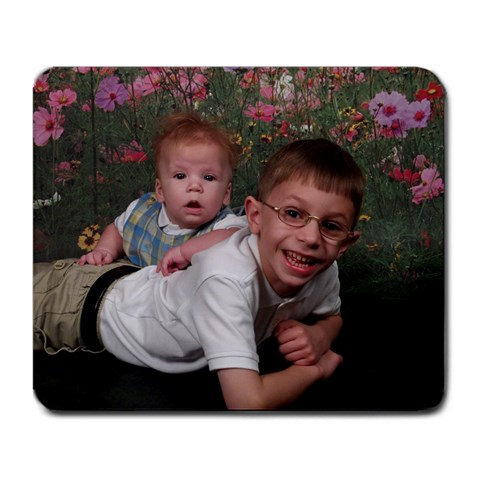 Our Boys !  By Jolene   Large Mousepad   Mvfvugi02b2k   Www Artscow Com Front