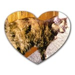 Jennifer s Cat Soda - Heart Mousepad