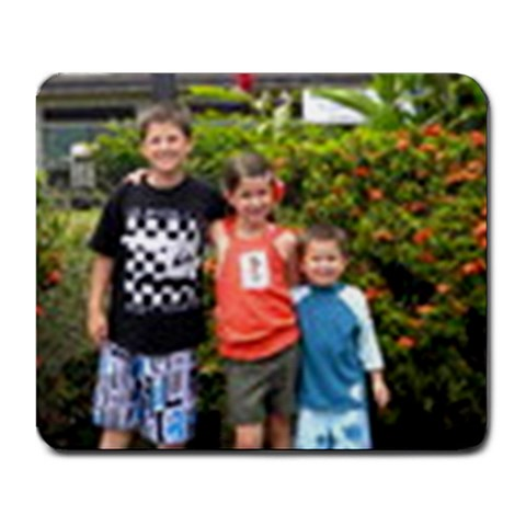 The Kids By Janie Bogetti Hurst Higgins   Large Mousepad   Mh26wlsttumc   Www Artscow Com Front