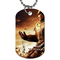 Gears Of War 2 By Alexander Stephens   Dog Tag (two Sides)   K1g5qpgrgpln   Www Artscow Com Back