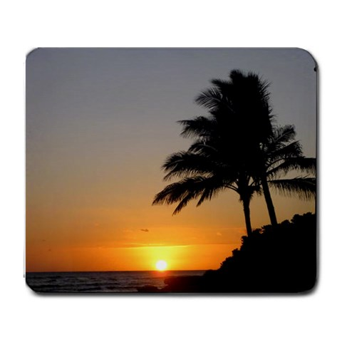 Barbers Point By Lori Rondeau   Large Mousepad   E1rbhh2lj6xq   Www Artscow Com Front