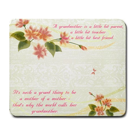 For Gran By Kim Tilley   Collage Mousepad   Zt111mabx6rj   Www Artscow Com 9.25 x7.75 Mousepad - 1