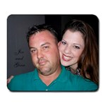 Joe & Gina - Large Mousepad
