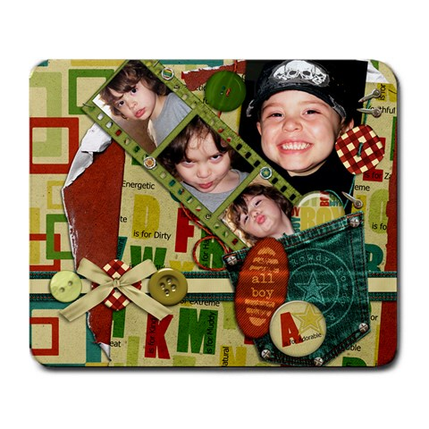 Ryder s Mousepad By Creative Chaos   Large Mousepad   487td3hzu0iv   Www Artscow Com Front