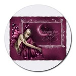 angel picture - Round Mousepad
