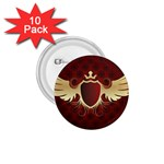 vector-winged-shield-13-by-dragonart 1.75  Button (10 pack)