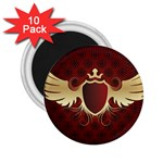 vector-winged-shield-13-by-dragonart 2.25  Magnet (10 pack)