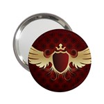 vector-winged-shield-13-by-dragonart 2.25  Handbag Mirror
