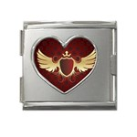 vector-winged-shield-13-by-dragonart Mega Link Heart Italian Charm (18mm)