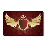 vector-winged-shield-13-by-dragonart Magnet (Rectangular)