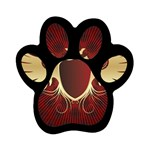 vector-winged-shield-13-by-dragonart Magnet (Paw Print)