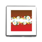 vector-spring-flower-card-02-by-dragonart Memory Card Reader (Square)