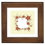vector-silk-flower-design-card-02-by-dragonart1 Framed Tile