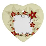 vector-silk-flower-design-card-02-by-dragonart1 Ornament (Heart)