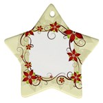 vector-silk-flower-design-card-02-by-dragonart1 Ornament (Star)