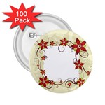 vector-silk-flower-design-card-02-by-dragonart1 2.25  Button (100 pack)